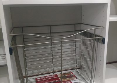 Wire Pull-Out Basket