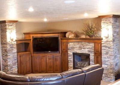 Fireplaces and Entertainment Center