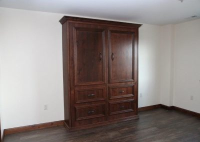 Murphy Bed Rustic Cherry Homestead with Glaze
